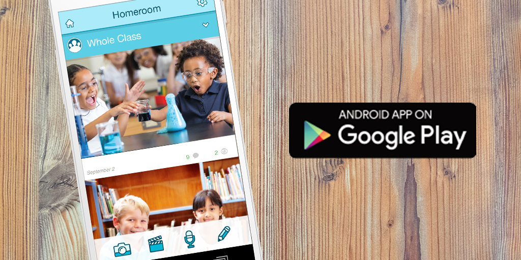 FreshGrade is now available on Android, Download from the Google Play Store!