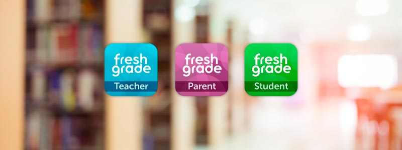 FreshGrade's Media Kit Includes logos, brand guidelines, and app icons