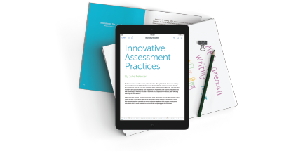 FreshGrade's eBook on Innovative Assessment Practices