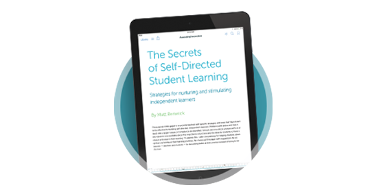Secrets of Self-Directed Student Learning: Strategies for nurturing and stimulating independent learners. An eBook by Matt Renwick